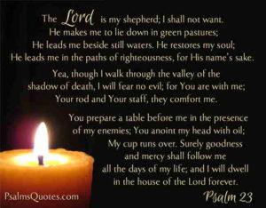 psalm-23, God